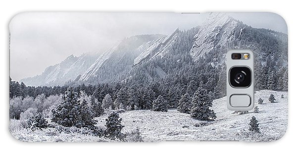 The Flatirons - Winter Galaxy Case by Aaron Spong