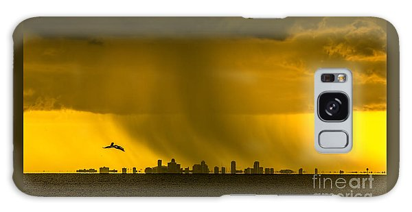 The Floating City  Galaxy Case by Marvin Spates