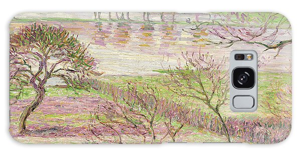 Impressionism Galaxy S8 Case - The Flood At Eragny by Camille Pissarro