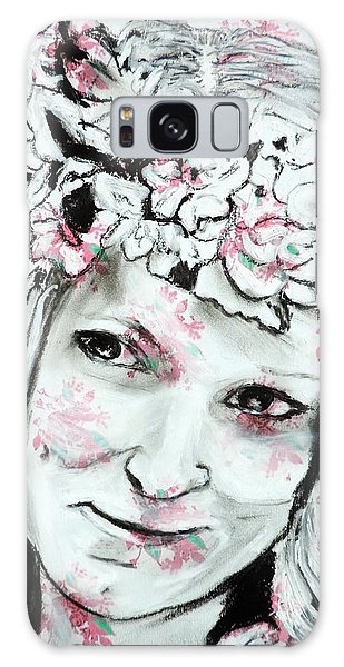 The Flower Girl Galaxy Case