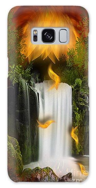 The Flower Of Joy - Fantasy Art By Giada Rossi Galaxy Case