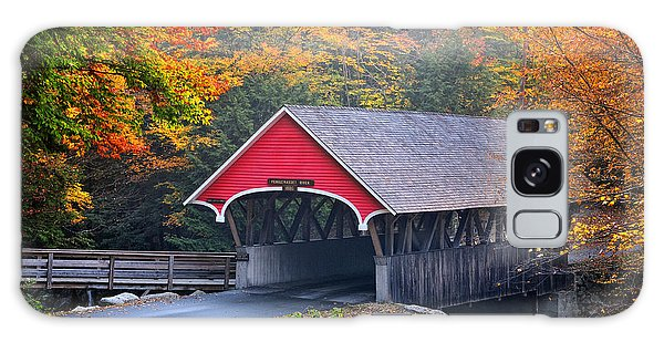 The Flume Covered Bridge Galaxy Case