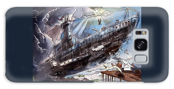 The Flying Submarine Galaxy Case