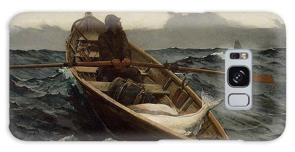 The Fog Warning .halibut Fishing Galaxy Case