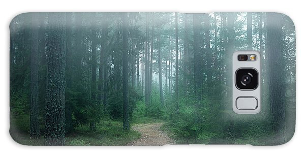 Tall Galaxy Case - The Forest Of Secrets by Christian Lindsten
