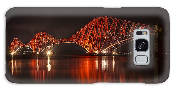 The Forth Bridge By Night Galaxy Case