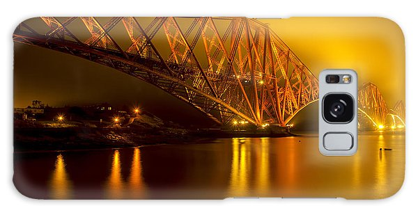 The Forth Bridge From North Queensferry Galaxy Case