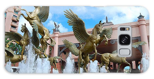 The Fountains At Atlantis Galaxy Case
