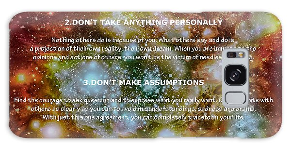 The Four Agreements-wisdom Of The Toltecs Galaxy Case