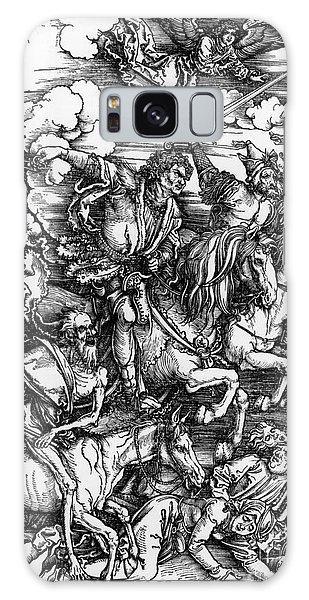 Mythological Galaxy Case - The Four Horsemen Of The Apocalypse by Albrecht Durer