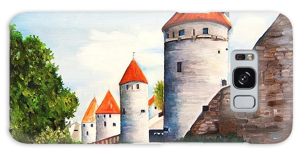 The Four Old Towers Estonia Galaxy Case