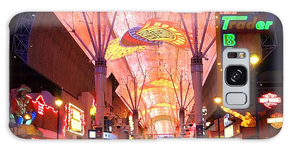 The Fremont Street Experience Galaxy Case