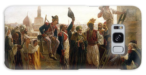 Turban Galaxy Case - The French In Cairo In 1800, 1884 by Walter Charles Horsley