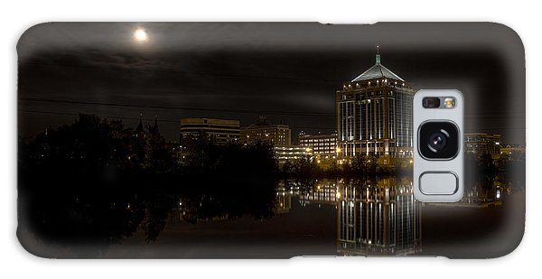 The Full Moon Over The Dudley Tower Galaxy Case