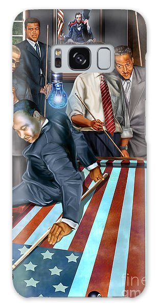 Political Galaxy Case - The Game Changers And Table Runners by Reggie Duffie