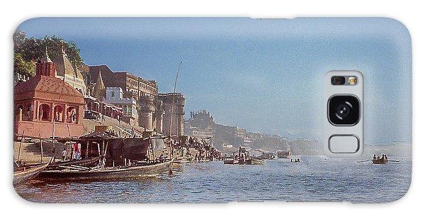 The Ganges River At Varanasi Galaxy Case