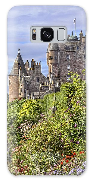 The Garden Of Glamis Castle Galaxy Case