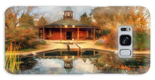 The Garden Pavilion Galaxy Case by Darren Fisher