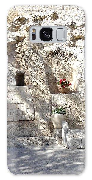 The Garden Tomb  In Jerusalem Galaxy Case