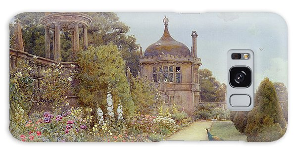 Flowerbed Galaxy Case - The Gardens At Montacute In Somerset by Ernest Arthur Rowe