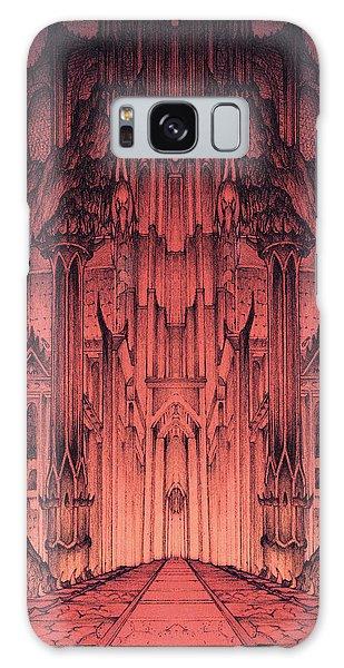 The Gates Of Barad Dur Galaxy Case