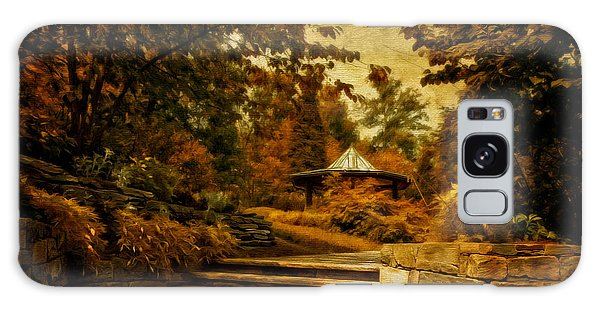 Brookside Gardens Galaxy Case - The Gazebo In Autumn by Lois Bryan