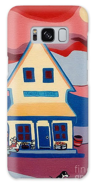 The General Store Galaxy Case by Joyce Gebauer