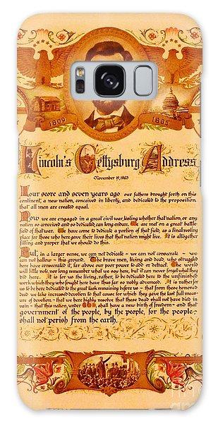 The Gettysburg Address Galaxy Case