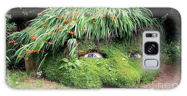 The Giant's Head Heligan Cornwall Galaxy Case by Richard Brookes