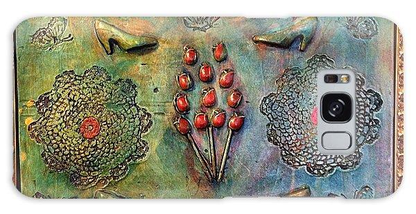 Alfredo Garcia Galaxy Case - The Gift By Alfredo Garcia Art by Alfredo Garcia