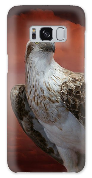 Galaxy Case - The Glory Of An Eagle by Holly Kempe