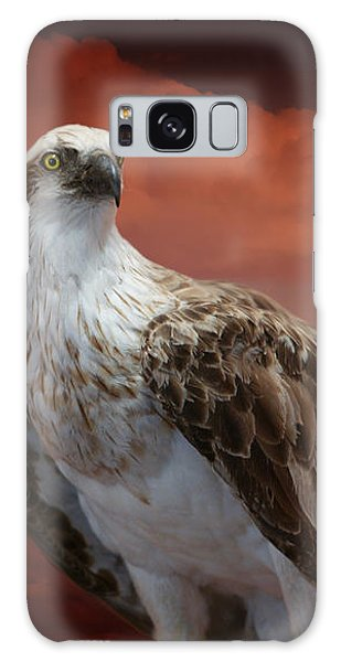 The Glory Of An Eagle Galaxy Case by Holly Kempe