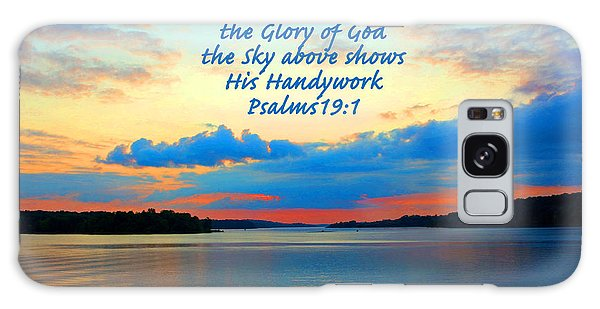The Glory Of God Galaxy Case by Lorna Rogers Photography