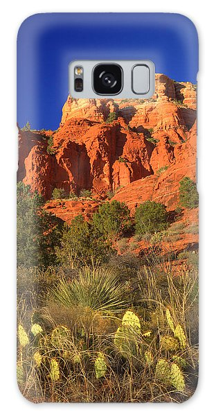 The Glory Of The Desert Red Rocks 1 Galaxy Case