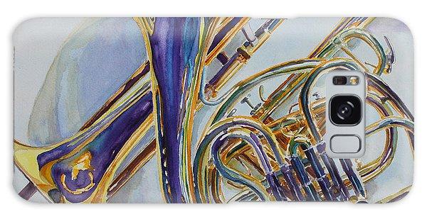 Trombone Galaxy Case - The Glow Of Brass by Jenny Armitage