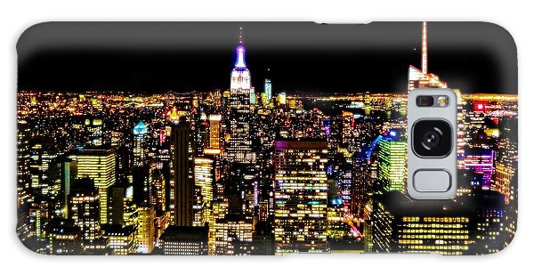 The Empire Galaxy Case - The Glow Of The New York City Skyline by Dan Sproul
