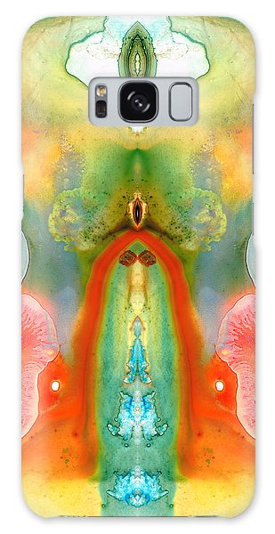 Divine Galaxy Case - The Goddess - Abstract Art By Sharon Cummings by Sharon Cummings