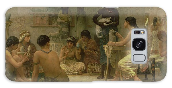 Egypt Galaxy Case - The Gods And Their Makers, 1878 by Edwin Longsden Long