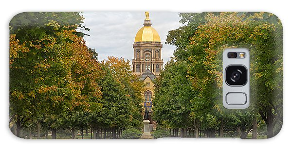 The Golden Dome Of Notre Dame Galaxy Case