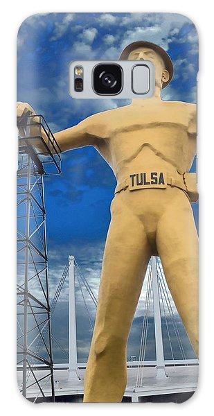 The Golden Driller - Tulsa Oklahoma Galaxy Case
