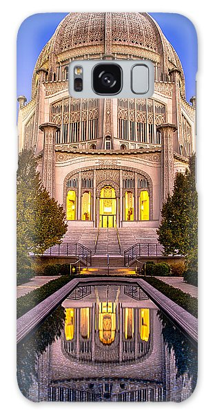 The Golden Jewel - Baha'i Temple  Galaxy Case
