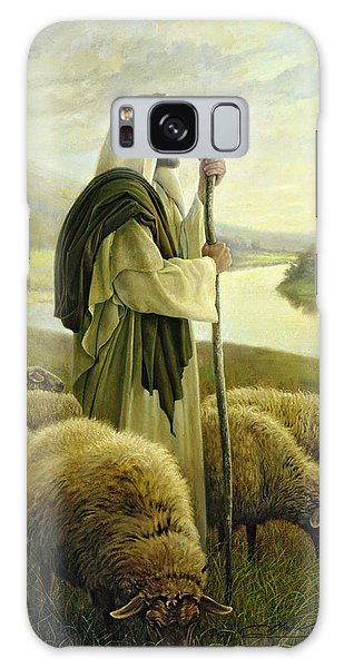 Galaxy Case featuring the painting The Good Shepherd by Greg Olsen