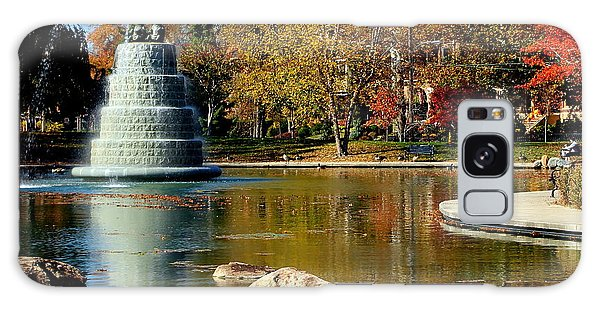 The Goodale Park  Fountain Galaxy Case