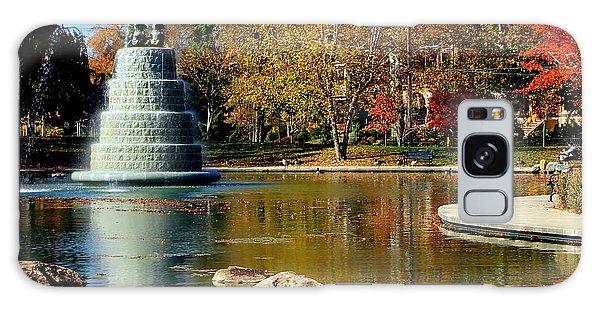 The Goodale Park  Fountain Galaxy Case