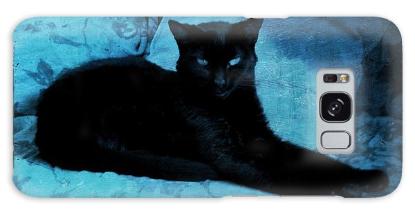 The Gothic Cat Galaxy Case by Absinthe Art By Michelle LeAnn Scott