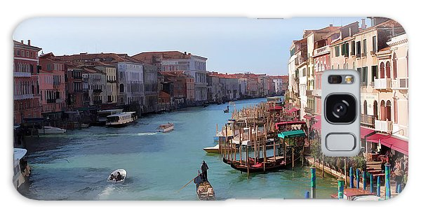 The Grand Canal Venice Oil Effect Galaxy Case