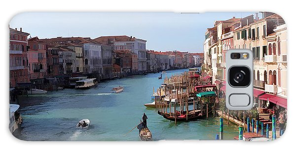 The Grand Canal Venice Oil Effect Galaxy Case by Tom Prendergast