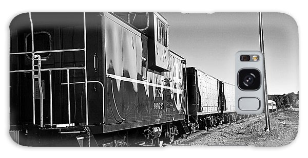 Galaxy Case featuring the photograph The Grand Canyon Express 2 Black And White by James Sage