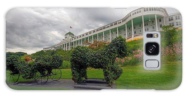 The Grand Hotel Mackinac Island Galaxy Case by Jerry Gammon
