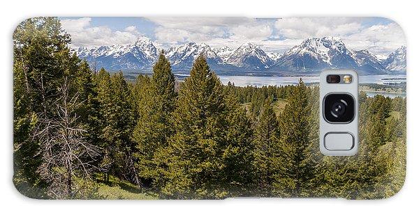 Teton Range Galaxy Case - The Grand Tetons From Signal Mountain - Grand Teton National Park Wyoming by Brian Harig